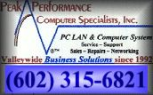 Website Design, SEO & SES plus Internet Hosting Services by Peak Performance Computer Specialists, Inc.